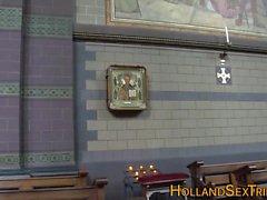 La vraie bête hollandaise jizzed