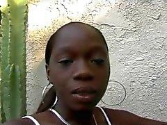 Schwarzes Teenager & White Typ Rassen ( der UPL durch Russisches Roulette )