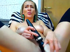 Hot Solo Masturbation Session