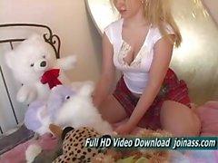 Alison Angel Cute Schoolgirl Blue Innocent Eyes Models Nude