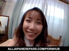 Amazing show with amateur Hirai Chisato