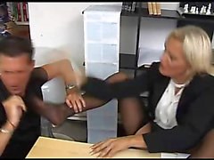 Nice-Looking doxy drilled at her office