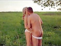 Paare Swinger auf dem Gebiet