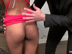 LA NOVICE - Sexy French teen gets her asshole drilled deep