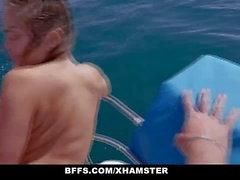 BFFS - распутная BestFriends Share Капитаны Cock