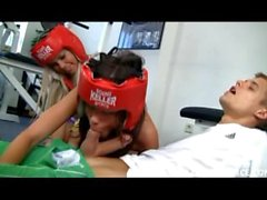 Little Caprice and Sabrinka - Boxing Girl