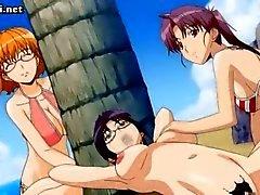 Anime nauttiilelu ja saada anaali