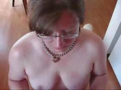 Prostituta escravo Kinky comer