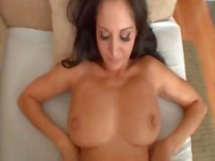 Hardcore POV shagging with adorable busty porn star Ava Addams