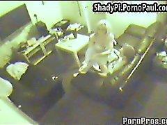 Überwachungskamera Film blond