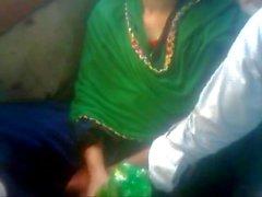 Amante de Bangladesh en el autobús