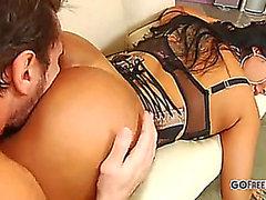 Kiara Mia copulates a priceless ramrod;