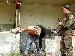 BDSM gefesselt boy geschlagen ist , geprägt nett Twinks