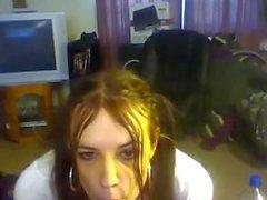 Amazing kitty kaity on webcam