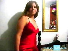 molliges jugendlich - brasilianisches Mädchen