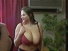 Busty babes are in public and go home for some hot lesbian sex