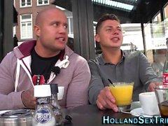 Hollantilainen prossie syötiin