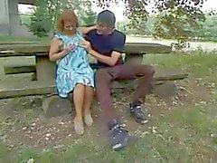 Duitse Mature geniet het In Pussy & Ass