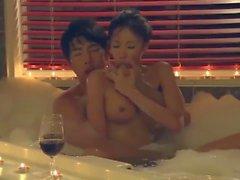 корейская коллекция романтическая эротика корея пара пузырь ванна сцена секса
