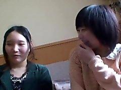 Japanese skank gets toyed
