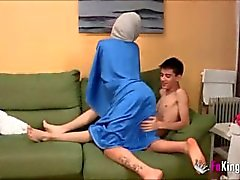 hindi hijab de - blowjob kij