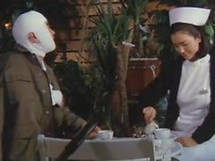 Jun Izumi Nurse Ragazze dormitorio Sticky Fingers 1985