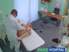 FakeHospital Cinsel terapi kontrol edilemez bir fışkırtma yeni bir hastanın neden