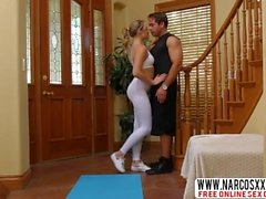 Industrious Mommy Mia Malkova Yoga