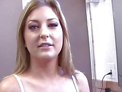 Busty MILF Avy Scott invites him in to fuck her