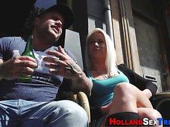 Holandês prostituta se esfregou