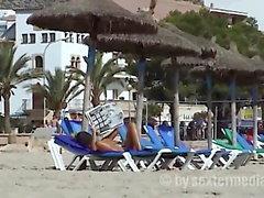 Voyeur am FKK Strand Mallorca