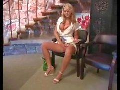Alison Angel masturbating in public