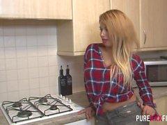 REINEN XXX FILM rennen mein Stieftochter an die Küche und e