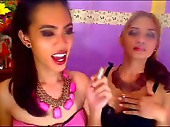 Horny Duo in Another Round of Hot Shemale Action