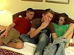 Gay brown haired sexy teen porn London Lane gives Devon and