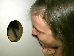 amateur pik honger in gloryhole