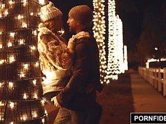 PORNFIDELITY Katy öpücük Kış Tail A Fine Adet mı