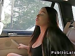 taklit taksi içinde busty Amerikalı bebek pislikler