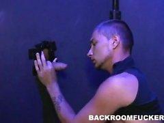 In the backroom