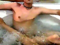 Di cazzo gaio Antics da bagno Portano A Divertimento pedale