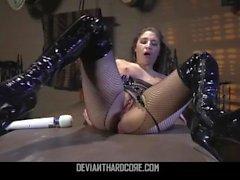 Deviant Hardcore - Anal Slut Abella Danger Brutalement Fucked