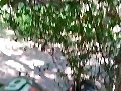 public masturbating in a park