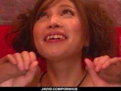 Tsubasa Aihara hızlı sert üçlü için olduğunu