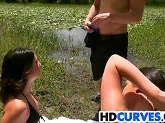 Culo enorme Babes Brittany Shae y Victoria Roxx