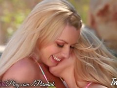 Hot lesbian scene with Lexi Belle