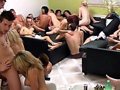 Gerçek Swinger Ev Orgy Kamera Caught