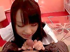 Nozomi Aiuchi - Cosplay anderen - Maid - Fellatio