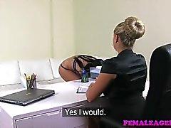 FemaleAgent - Big tits ve yuvarlak Seksi anneler casting