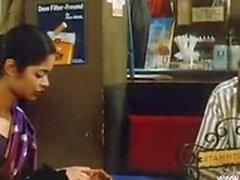Indischen Babe bekommt auf im einem Retro- Film gefickt werden