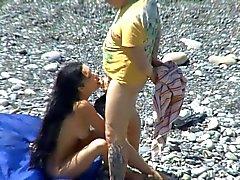 De nudité de plage le 24
